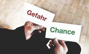 Gefahr/Chance